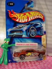 '67 PONTIAC GTO #117✰brown;5dot; COCOA PUFFS✰CEREAL CRUNCHERS✰2004 Hot Wheels