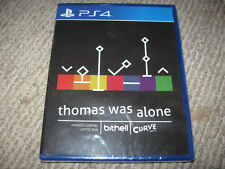 New Limited Run Games THOMAS WAS ALONE Playstation 4 PS4 LRG