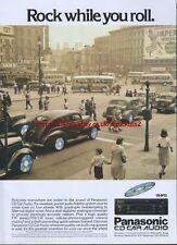 Panasonic CD Car Audio 1989 Magazine Advert #2642
