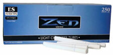 Zen Smoke White Light King Size Cigarette Filter Tubes 1 Box of 250 Tubes - 3107