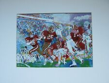 Joe Montana Autographed LeRoy Neiman Super Bowl XIX Print -Obtained In Person