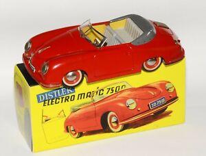 Distler Porsche Electromatic 7500 in rot, 1. Ausführung, in Reprobox