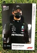 Topps NOW Formula 1 GEORG RUSSELL - F1-  Card #19 - MERCEDES - Admirable drive