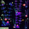 Silicone Glowing Artificial Fish Tank Aquarium Coral Plants Ornament Underwater