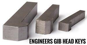 Gib Head Keys Metric DIN6887 Shaft Keys 3mm To 50mm Best Price
