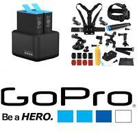 Genuine GoPro Hero 9 BLACK Dual Battery Charger ADDBD-001+Adventure Kit