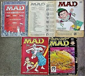 A BEAT-UP MAD BLOW-OUT! #29, #30, #33, #37 & #38! $0.99 Start! WHAT A BARGAIN!!!