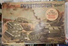 Gilbert Erector Constructor Military Vehicles Box
