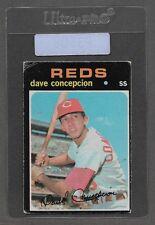* 1970 Topps Dave Concepcion RC Rookie #14 (Fair) Nice Old Baseball Card * P3508