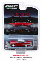 Christine 1958 Plymouth Fury HOLLYWOOD SERIES 23 GREENLIGHT DIECAST 1/64
