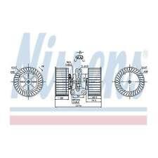 Fits BMW 5 Series E39 528i Genuine Nissens Interior Heater Blower Motor Fan