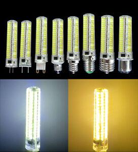 10W Dimmable GY6.35/G4/G8/G9/E11/E12/E14/E17/BA15D 136-5730SMD LED AC110/220V