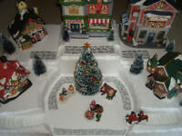 Christmas Village Display Platform J27 For Lemax Dept56 Dickens + More