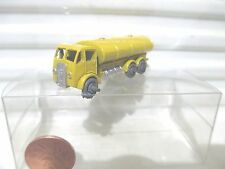 Lesney Matchbox 1955 Yellow RW11A Road Tanker Crimped Axles MetalWhls MintBoxd