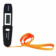 DT8220 New Mini Pen Type Non-Contact Infrared IR Digital LCD Thermometer Black
