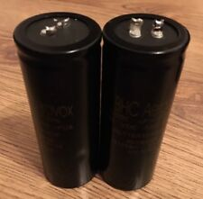 2 PIECES OF BHC AEROVOX ALT10A 12000uF 120V ELECTROLYTIC CAPACITOR