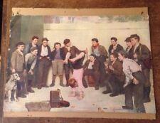 JOHN GEORGE BROWN (British, 1831-1913) Heels Over Head Print American Colortype