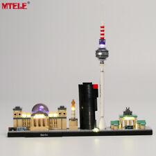 LED Light Up Kit For LEGO Architecture Berlin TV Tower Lighting Set for 21027