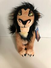 Authentic Disney Store Lion King Villain Scar Plush Soft Stuffed Animal