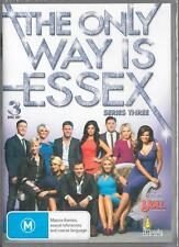 THE ONLY WAY IS ESSEX SERIES THREE -  NEW & SEALED REGION 4 DVD FREE LOCAL POST