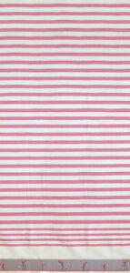 "Amazing Pink Flamingos Vanguard Beach Towel - 36"" x 70"" - Made in Brazil"