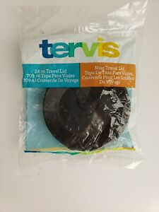 Tervis Tumbler Company - 24 oz. Tumbler Lid - Black - New in Sealed Package