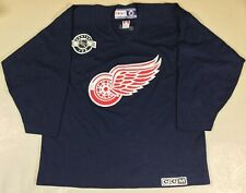 Vintage Detroit Red Wings Hockey-NHL CCM Jersey SizeXL