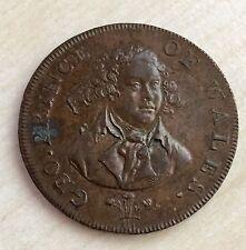 1790's Hochgradige Conder Token - George Prince von Wales (A135)