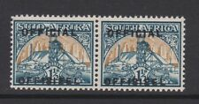 SOUTH AFRICA 1950 1½d OFFICIAL OPT. HORIZONTALLY CW O19b MINT.
