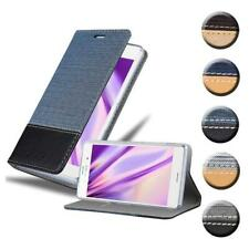 Case for Sony Xperia Z3 Phone Cover Denim Style Protective Wallet Book