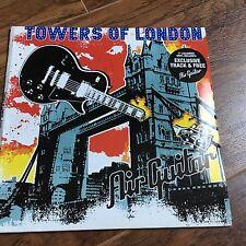 "TOWERS OF LONDON - AIR GUITAR - 7"" BLUE VINYL SINGLE - MINT"