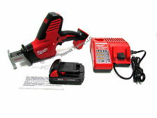 Milwaukee 18V 18 Volt M18 Lithium Ion Reciprocating Sawzall Saw Kit 2625-21CT