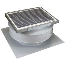 365 CFM 5 Watt 12V Solar Powered Attic Fan Shed Exhaust Roof Mounted Ventilation