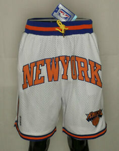 New York Knicks Classic Throwback Basketball Shorts