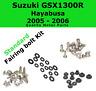 Fairing Bolt Kit body screws for Suzuki Hayabusa GSX 1300R 2005 - 2006 Stainless
