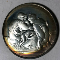 The Forefathers of Christ, The Genius of Michelangelo Sterling Silver Medal