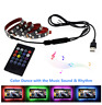 USB LED Strip Light 5050 RGB 5V DIY Flexible RGB LED Ribbon For TV Backlight