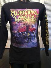 Municipal Waste Tour Shirt Sz S Kreator Rock Nuclear Metal Exodus Suicidal Death