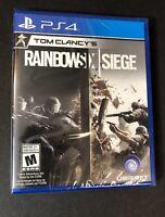 Tom Clancy's Rainbow Six Siege [ First Print ] (PS4) NEW