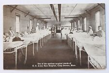ONE OF THE SPOTLESS SURGICAL WARDS OF U.S. ARMY BASE HOSPITAL, CAMP DEVENS, MA