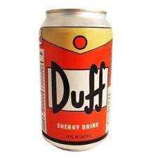 Duff Can Energy Drink The Simpsons Beer Homer Simpson Moe's Tavern