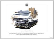 American Classics - CADILLAC - 1959 - Fine Art Print - US american Picture Image