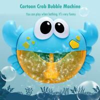 Karikatur Krabben Maschinen Musik Blasen Hersteller Baby Bad Dusche Spielzeug