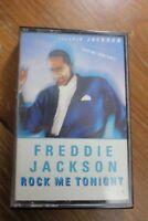Freddie Jackson - Rock Me Tonight Cassette Tape album