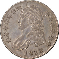 1810 Bust Half Dollar Choice XF+ 0-109 R.3 Great Eye Appeal Nice Strike