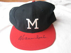Warren Spahn SIGNED Milwaukee Braves Cooperstown Collection Hat Autographed