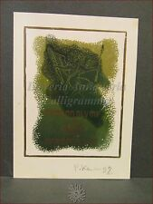 EROTICA - Ex-Libris Originale Firmato, EROS Rudolf Kopylov Mario De Filippis
