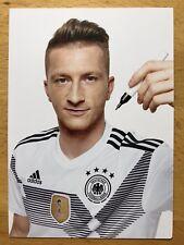 Marco Reus AK DFB WM 2018 neue originale Autogrammkarte