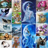 DIY 5D Diamond Embroidery Painting Cross Stitch Kit Flower Animal Home Decor