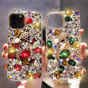Shining Girly Fox Sparkle Bling Diamond Clear Soft Women Phone Case for Huawei A